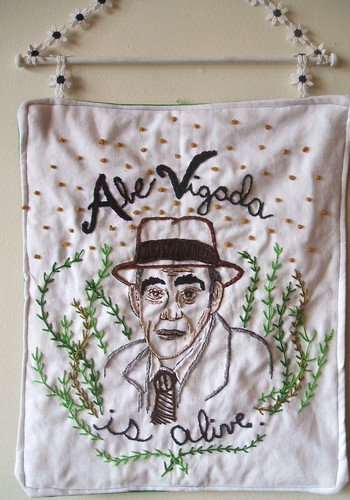 abe vigoda embroidery