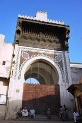 Fez - Andalucia Mosque Main Door (zishsheikh) Tags: fez fes fesalbali andaluciamosque entrancemoroccoislammuslimmuslimsislamicartislamicarchitecturealmagrib