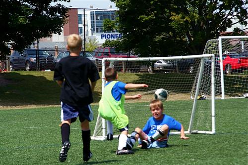 Soccer Goal 7-24-09 9