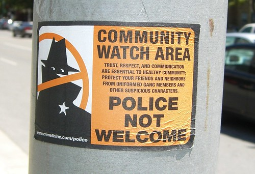 community watch sign