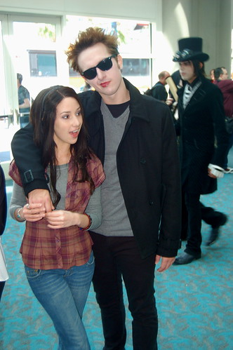 Comic Con 2009: Twilight Couple