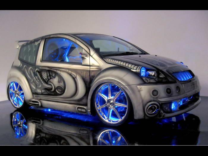 Alien Style Citroen C2 - 2005