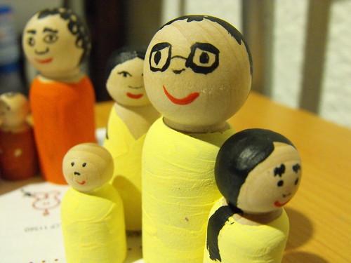 Familias de madera
