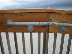 ADA Rail on Alabama Gulf State Park Pier