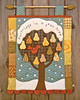Partridge in a Pear Tree (PatchworkPottery) Tags: christmas tree magazine pattern quilt calendar handmade buttons felt ornaments pear patchwork countdown applique partridge patchworkpottery