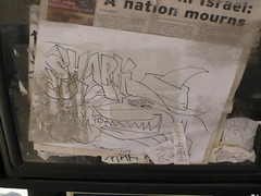 SHARKCULA! (Billy Danze.) Tags: chicago graffiti brain scatter rap sharkula slang thigahmahjigggee sharkcula
