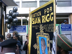 Vigil for Sean Rigg
