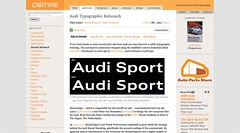Audi Typographic Relaunch | Cartype_1251421798410