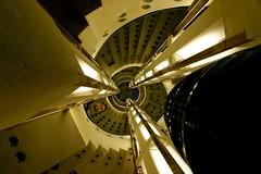 Staircase (mattrkeyworth) Tags: architecture stairs germany deutschland sony treppe staircase bremen allemagne 1930 treppenhaus a900 bttcherstrasse sonyalpha bernhardhoetger btcherstrasse hausatlantis sonyalphaa900 sonya900 sonydslra900 mattrkeyworth hiltonbremen