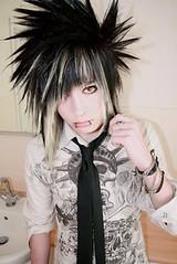 Spiky_Emo_Hair (stupidpeople2009) Tags: boy guy emo stupid