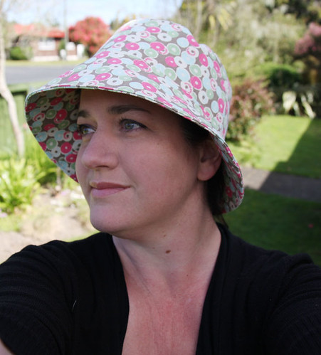 7d50f8c9cbc Hazelnuts  Reversible Bucket Hat by Betz White