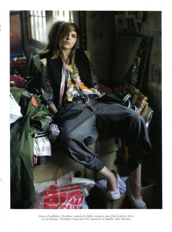 Steven Meisel Vogue Italia April 2009 1