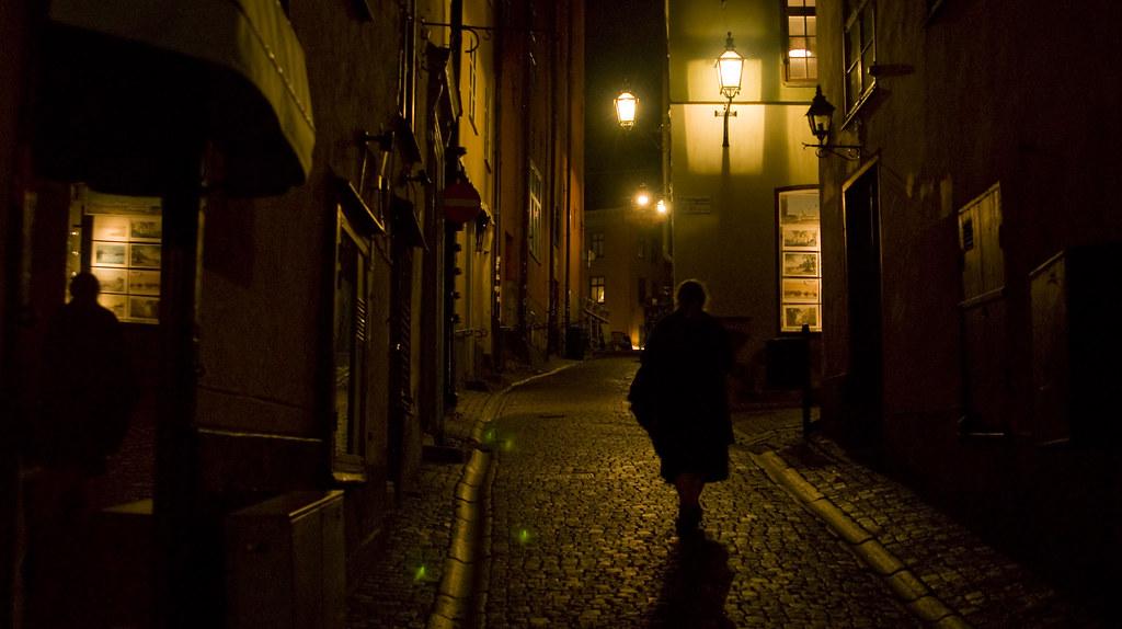 Stockholm: Gamla Stan At Night
