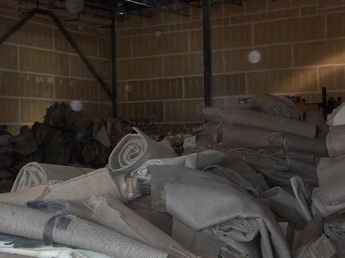 Used Carpet Ready for Processing