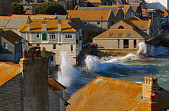 St. Ives_D8278 (Ennor) Tags: uk sea geotagged cornwall unitedkingdom crash path wave september splash stives weeklysurvivor 2009 kernow wtmwchallengewinner britishseascapes geo:lat=50212092 geo:lon=54792
