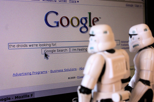 """The droids we're googling for"" - Stefan Le Du"