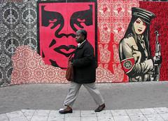 obey streetart (wojofoto) Tags: streetart holland pasteup amsterdam obey nederland netherland cs stadsarchief obeythegiant frankshepardfairey beeldbank wolfgangjosten wojofoto