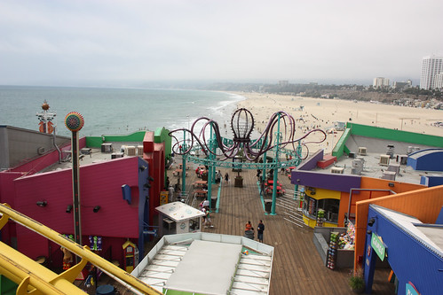 View from the Santa Monica Ferris Wheel