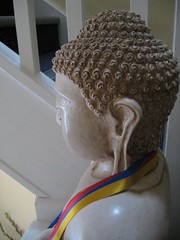 new centre opening july 2009 buddha on stairs