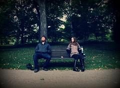 160.365 Hey Jude (jennyBunz) Tags: park selfportrait love bench leaf 30days mykey heyjude 365days 30songs