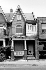 39 Gladstone Ave - 2 - August 4, 1997 (collations) Tags: toronto ontario architecture blackwhite documentary vernacular streetscapes builtenvironment urbanfabric gladstoneave