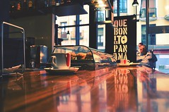 Que Bonito Es (veronikaa) Tags: madrid urban espaa cup coffee caf colors miguel shop bar de relax cafe spain nikon focus san counter bonito kaffee que espana mercado panama brew barra taza caff kaffe kava  koffie kahvi kva    cafea mostrador   d5000 kawy