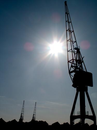 281/365 - Dock crane