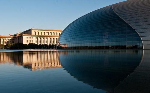 Sunset noir 39 s most interesting flickr photos picssr for Beijing opera house architect