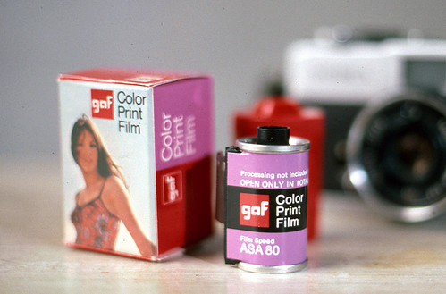 GAF Color Print Film 1972