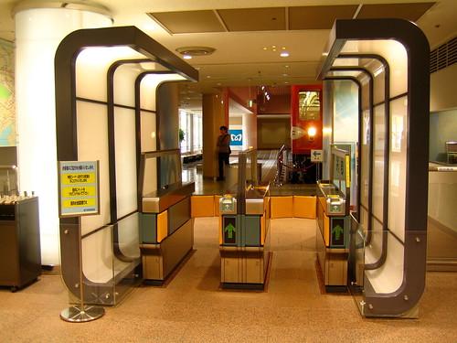 地下鉄博物館の入口