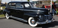 1947 Cadillac Fleetwood Series 75 Limousine (carphoto) Tags: cadillac limousine 1947 fleetwood series75 richardspiegelmancarphoto hersheyfleamarket2009 1947cadillacfleetwood75limousine