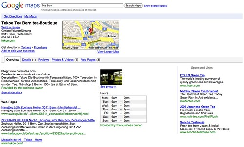 Google Maps Local Listings Old