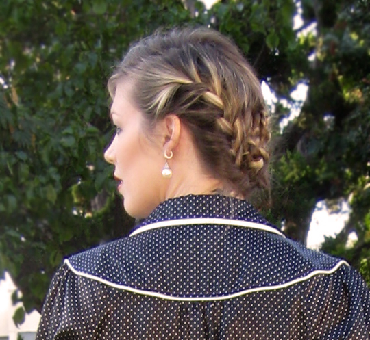 How To French Braid Step By Step Pictures. french in the step-by-step