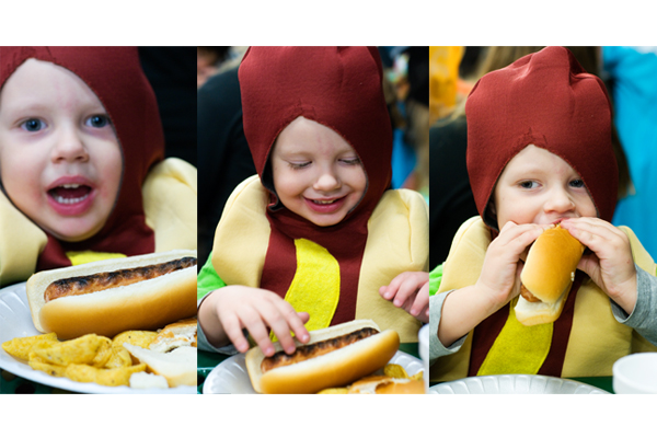 cannibalistic hot dog