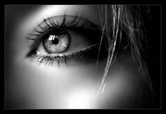 The Guest (blarusi) Tags: light blackandwhite bw woman eye closeup anne donna details bn d200 occhio biancoenero blackdiamond 1755 artofimages nikkorafs1755mmf28gedifdx bestcapturesaoi elitegalleryaoi