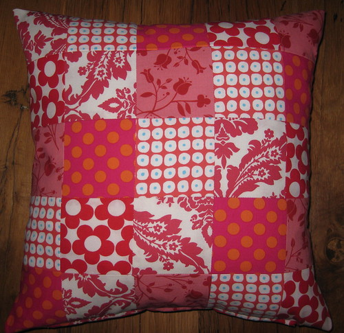 pillow red-white (and pink and orange)