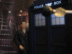 Not a Great Place to Land (Rooners Toy Photography) Tags: who doctorwho bbc scifi sciencefiction tardis daleks thedoctor timelord christophereccleston 9thdoctor characteroptions rooners