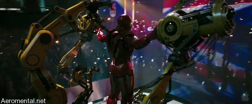 Iron Man 2 Trailer 2 show suit