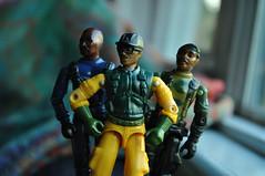 The Bronze Bombers! (skipthefrogman) Tags: bronze vintage real fun toy 1982 action mashup joe american hero figure custom gi bombers kitbash skipthefrogman