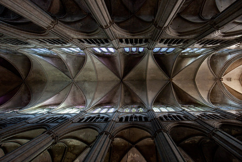 2011 Bourges Cathedral - Nave Vaults