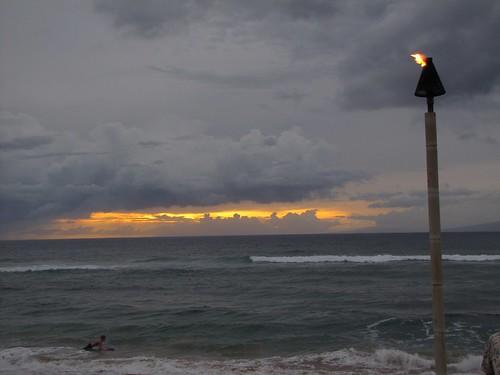 my last sunset in Maui