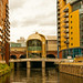 Leeds Station Southern Entrance from the River Aire