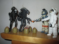 Alien Egg Pods and Ripley - Aliens 2153 (Brechtbug) Tags: alien egg pods ripley aliens scifi science fiction tv television show creature monster action figure toy toys space galaxy universe funko prometheus engineer figures series 1 ridley scott film movie xenomorphs like 2017 reaction original super7 retro active kenner type kane designed canceled for 1979 face hugger chest burster xenomorph facehugger chestburster helmet