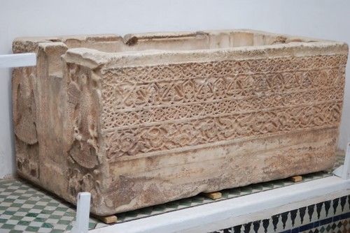 Cubeta de Abd al-Malik. Museo Dâr si Sa'îd, Marrakech.