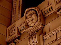 Architectural Detail of the Old Courthouse (Jenn (ovaunda)) Tags: california brick architecture concrete downtown architecturaldetail cityhall sony landmark historical courthouse ventura friars oldcourthouse dsch5 historialbuildings thechallengefactory jennovaunda ovaunda
