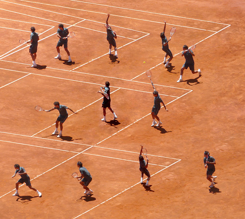 Madrid Open 2009, Roger Federer