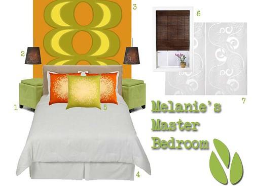 Melanie's Master Bedroom
