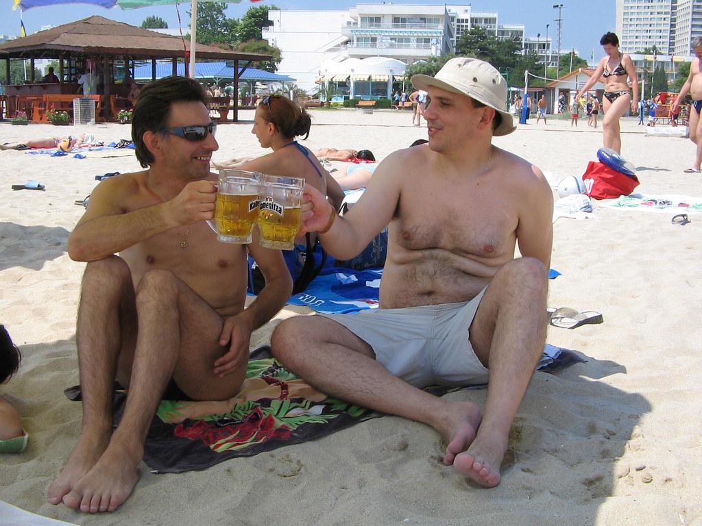 Каменица и за на плажа