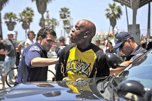 Venice Beach Boardwalk Arrest