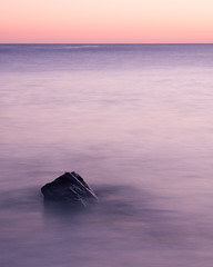 Long Exposure at Dail Beag (David Kendal) Tags: longexposure sunset seascape fineart minimal simplicity waterblur minimalistic isleoflewis gloaming dailbeag dhailbeag longexposureseascape baghdhailbeag